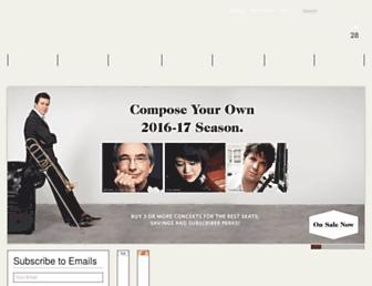 sfsymphony.org screenshot