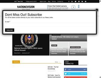hackingvision.com screenshot
