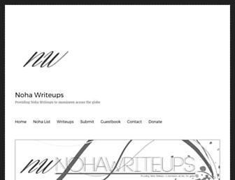 nohawriteups.org screenshot