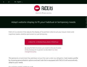 ws.facil-iti.com screenshot