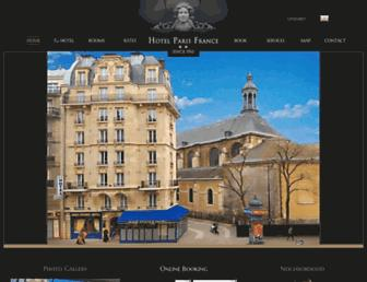 paris-france-hotel.com screenshot