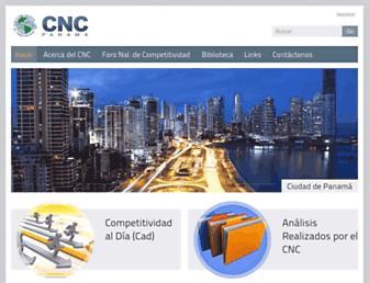 cncpanama.org screenshot