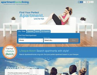 Thumbshot of Apartmenthomeliving.com