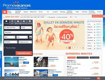 promovacances.com screenshot