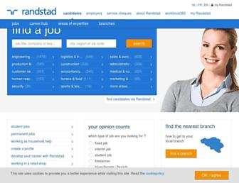 Thumbshot of Randstad.be