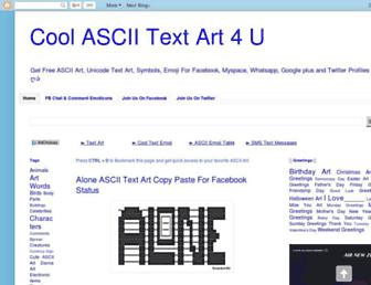 textart4u.blogspot.com screenshot