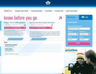 iatatravelcentre.com screenshot