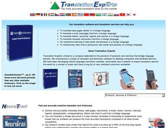 Thumbshot of Tranexp.com