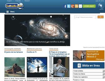es.catholic.net screenshot