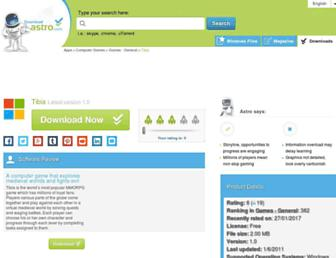 tibia.en.downloadastro.com screenshot