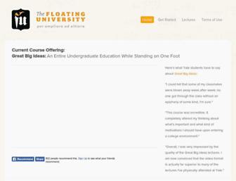 Thumbshot of Floatinguniversity.com