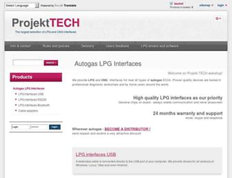 projekt-tech.com screenshot