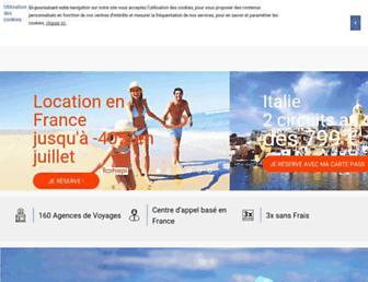 voyages.carrefour.fr screenshot