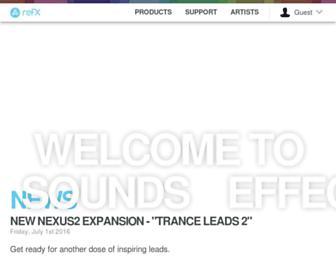 refx.com screenshot