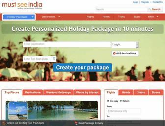 Thumbshot of Mustseeindia.com