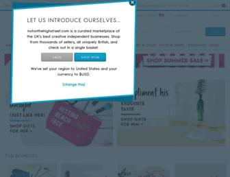 Thumbshot of Notonthehighstreet.com