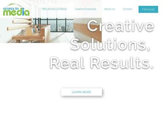 accesstomedia.com screenshot