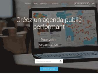 openagenda.com screenshot