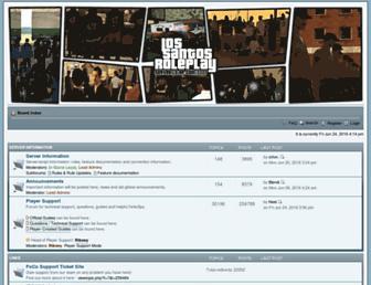 forum.ls-rp.com screenshot