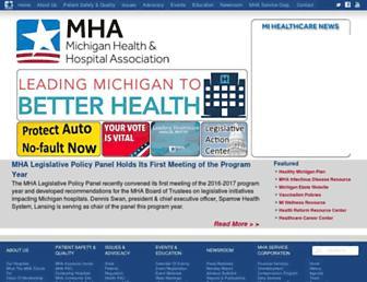 mha.org screenshot