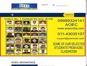 aoecindia.com screenshot