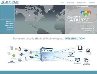 alchemysoftware.com screenshot