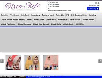 agenjilbabsurabaya.com screenshot
