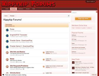 kippykip.com screenshot
