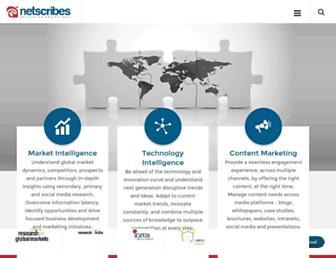 Thumbshot of Netscribes.com