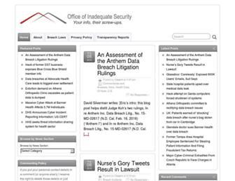 Thumbshot of Databreaches.net