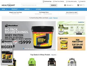 Thumbshot of Healthkart.com