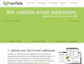 verifalia.com screenshot