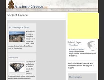 ancient-greece.org screenshot
