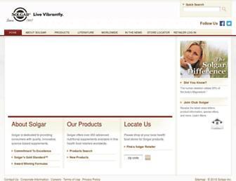 Thumbshot of Solgar.com