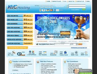 kvcwebhost.com screenshot