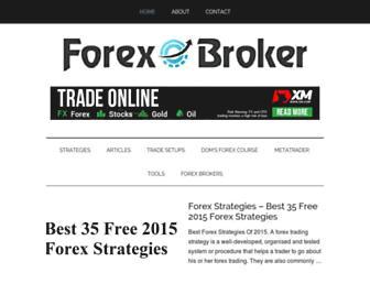 forexobroker.com screenshot