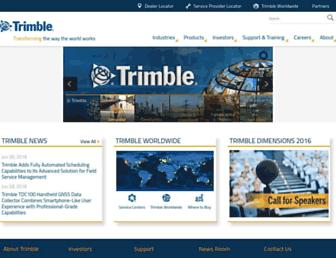 trimble.com screenshot