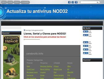 actualizatu-nod32.blogspot.com screenshot