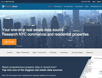 propertyshark.com screenshot