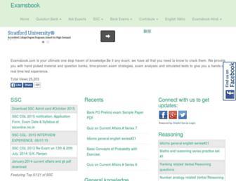 examsbook.com screenshot