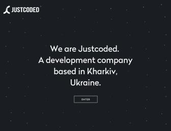 justcoded.com screenshot