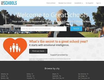 Thumbshot of Greatschools.net