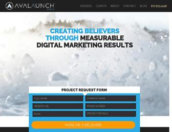 avalaunchmedia.com screenshot