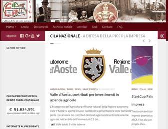 cilanazionale.org screenshot
