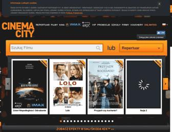 Thumbshot of Cinema-city.pl