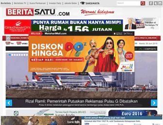beritasatu.com screenshot