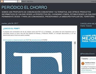 periodicoelchorro.blogspot.com screenshot