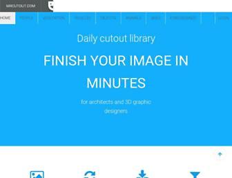 mrcutout.com screenshot