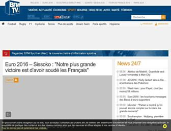 rmcsport.bfmtv.com screenshot