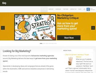 bigmarketing.co.uk screenshot